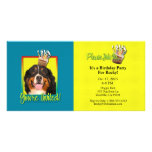 Invitation Cupcake - Bernese Mountain Dog Picture Card