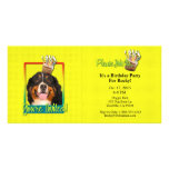 Invitation Cupcake - Bernese Mountain Dog Customized Photo Card
