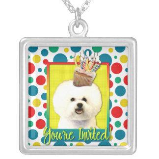 Invitation Cupcake - Bichon Frise Necklaces