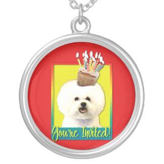 Invitation Cupcake - Bichon Frise Custom Necklace