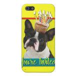 Invitation Cupcake - Boston Terrier iPhone 5 Case