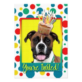 Invitation Cupcake - Boxer - Vindy