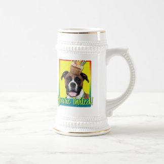 Invitation Cupcake - Boxer - Vindy Beer Stein