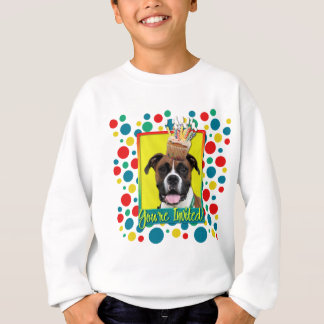 Invitation Cupcake - Boxer - Vindy Sweatshirt