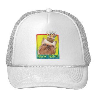 Invitation Cupcake - Brussels Griffon Trucker Hat