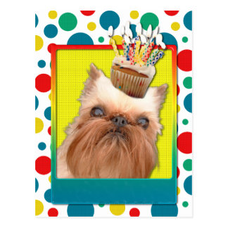 Invitation Cupcake - Brussels Griffon Post Cards