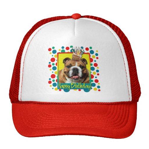 Invitation Cupcake - Bulldog - Dark Trucker Hat