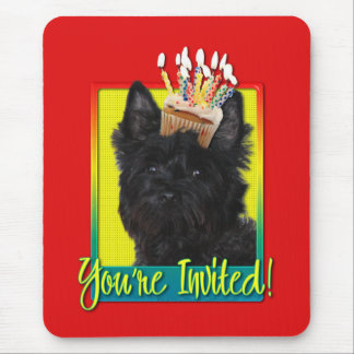 Invitation Cupcake - Cairn Terrier - Rosco Mouse Pad
