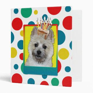 Invitation Cupcake - Cairn Terrier - TeddyBear Binder