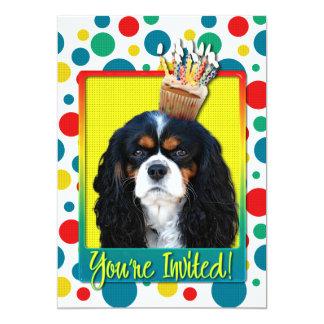 Invitation Cupcake - Cavalier - TriColor