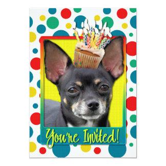Invitation Cupcake - Chihuahua - Isabella