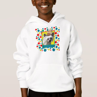 Invitation Cupcake - Chinese Crested - Kahlo Hoodie