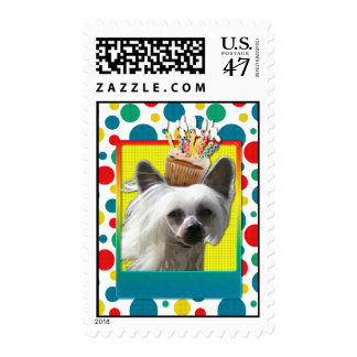 Invitation Cupcake - Chinese Crested - Kahlo Postage