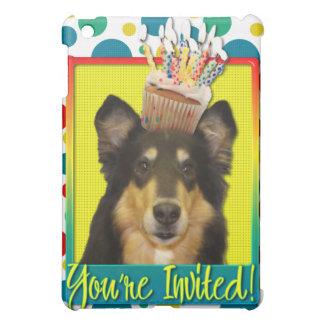 Invitation Cupcake - Collie - Caroline iPad Mini Cover