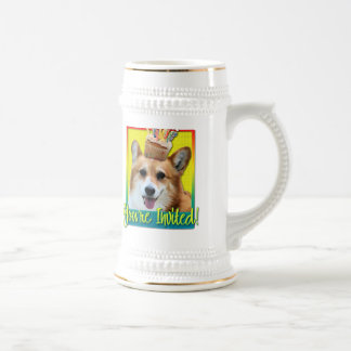 Invitation Cupcake - Corgi - Owen Beer Stein