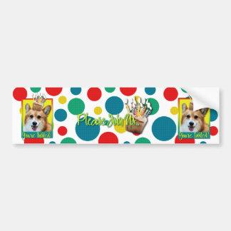 Invitation Cupcake - Corgi - Owen Bumper Sticker