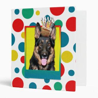 Invitation Cupcake - German Shepherd - Kuno Binder