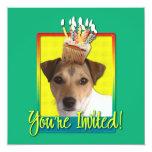 Invitation Cupcake - Jack Russell