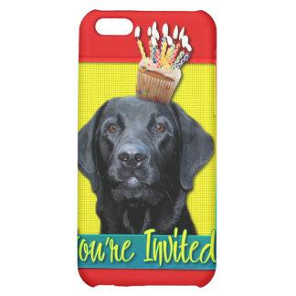 Invitation Cupcake - Labrador - Black - Gage iPhone 5C Cases