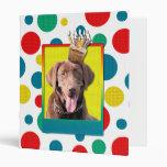 Invitation Cupcake - Labrador - Chocolate Binder