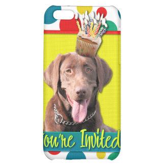 Invitation Cupcake - Labrador - Chocolate iPhone 5C Cases