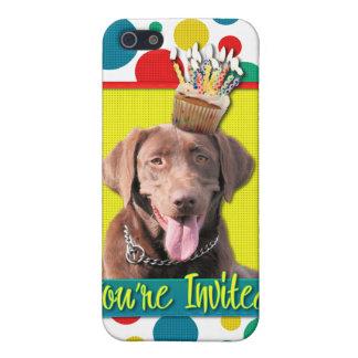 Invitation Cupcake - Labrador - Chocolate Case For iPhone 5