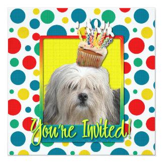 Invitation Cupcake - Lowchen