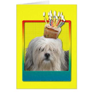 Invitation Cupcake - Lowchen Cards