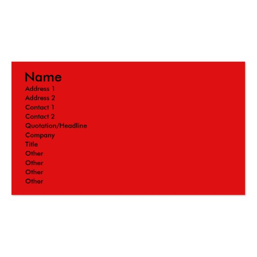 Invitation Cupcake - Lowchen Double-Sided Standard Business Cards (Pack Of 100)