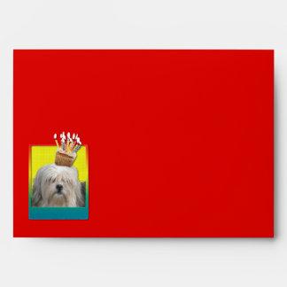 Invitation Cupcake - Lowchen Envelopes