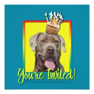 Invitation Cupcake - Mastiff - Snoop