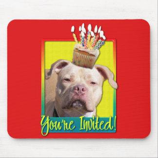 Invitation Cupcake - Pitbull - JerseyGirl Mouse Pad
