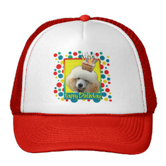 Invitation Cupcake - Poodle - Apricot Trucker Hat