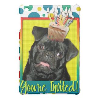 Invitation Cupcake - Pug - Ruffy Cover For The iPad Mini
