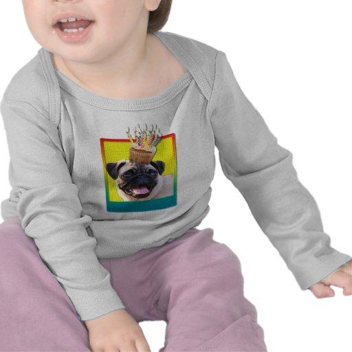 Invitation Cupcake - Pug Tshirt