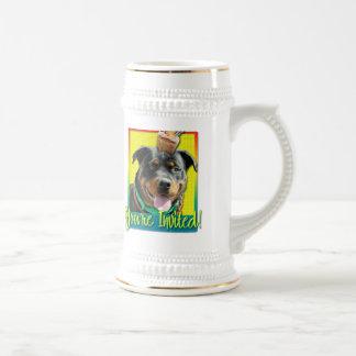 Invitation Cupcake - Rottweiler - SambaParTi Beer Stein