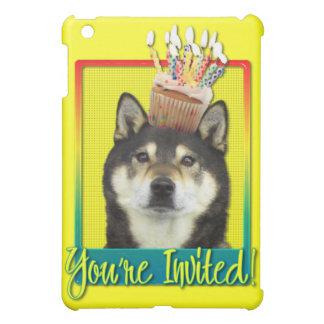 Invitation Cupcake - Shiba Inu - Yasha iPad Mini Covers