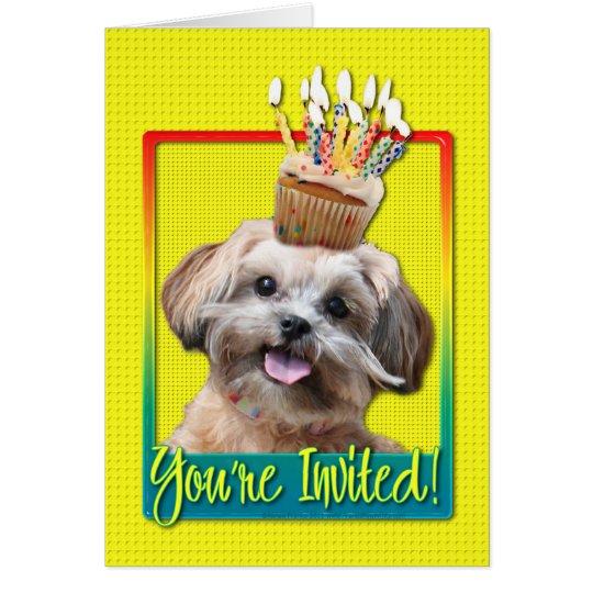 Invitation Cupcake - ShihPoo - Maggie