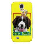 Invitation Cupcake - Springer Spaniel - Baxter Samsung Galaxy S4 Cases