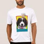 Invitation Cupcake - Springer Spaniel - Baxter T-shirts