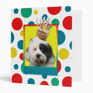 Invitation Cupcake - Tibetan Terrier Binder