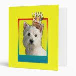 Invitation Cupcake - West Highland Terrier Binders