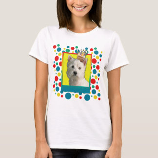 Invitation Cupcake - West Highland Terrier T-Shirt