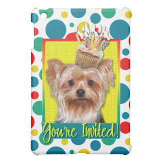 Invitation Cupcake - Yorkshire Terrier iPad Mini Covers