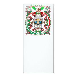 Invitation--Day-of-the-Dead-Ver-1 4x9.25 Paper Invitation Card
