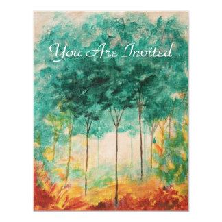 Invitation Design From Original Painting