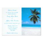 Invitation Destination Beach Wedding Customized