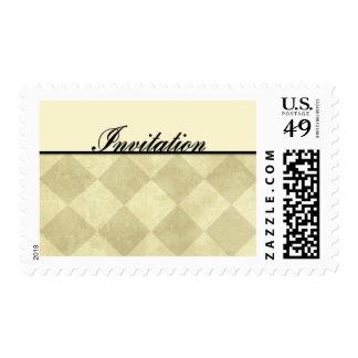 Invitation - Diamonds Stamp
