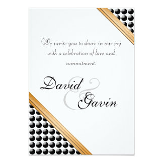 Invitation Dotted Delight Commitment Ceremony