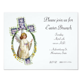 Invitation: Easter Morn Card